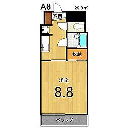 スクリーン3233[416号室]の間取り