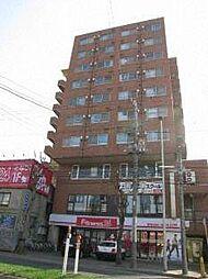 北海道札幌市白石区菊水二条3丁目の賃貸マンションの外観