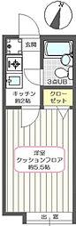 アネックスIIIB[1階]の間取り