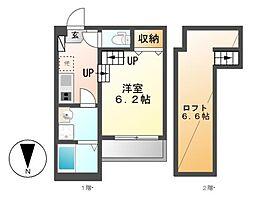 FAMILYSTEGE本笠寺[2階]の間取り