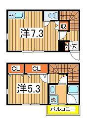 G-1大塚町[1階]の間取り