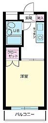 ステーションプラザ羽田[5階]の間取り