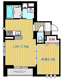 (仮)中加賀屋3丁目マンション[401号室号室]の間取り