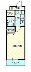 キャッスル絵図町[2階]の間取り