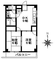大木ハウス[2階]の間取り