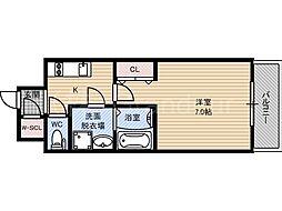 レジュールアッシュ京橋ファーストステージ[12階]の間取り