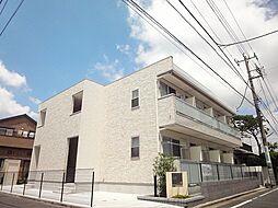 東京都小平市学園西町3丁目の賃貸アパートの外観