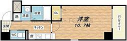 ウィング瓦町[3階]の間取り
