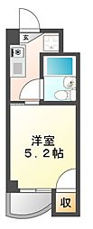 愛知県名古屋市中川区露橋2丁目の賃貸マンションの間取り