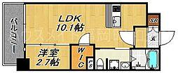 クラシス1513[4階]の間取り