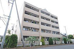 埼玉県越谷市大道の賃貸マンションの外観