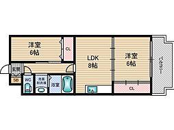 セジュールT&M[2階]の間取り