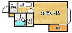 ファーストコート紫竹[301号室号室]の間取り