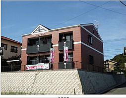 福岡県北九州市若松区畠田3丁目の賃貸アパートの外観