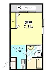 ダイヤモンドヒルズ横浜原宿[2階]の間取り