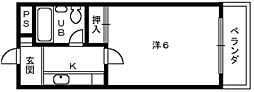 ラーニングホウプ羽衣[3階]の間取り