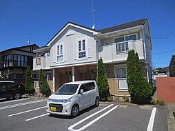 茨城県ひたちなか市湊中央2丁目の賃貸アパートの外観