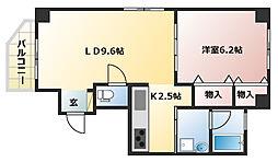 Y・House[301号室]の間取り