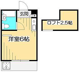 パル国分寺[1階]の間取り
