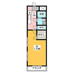 モンレーブ葵東I[3階]の間取り