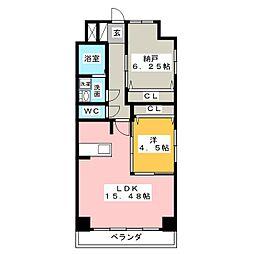 GRAN DUKE鶴舞公園[10階]の間取り
