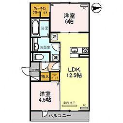 レオンガーデン 〜leon Garden〜[1O3号室号室]の間取り