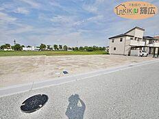 明姫幹線すぐ近くの開発地です。