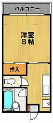 山本学園ビル[303号室]の間取り