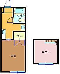 タマイハウス5[G号室]の間取り