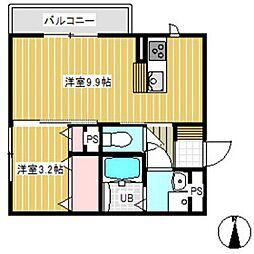 D-room SUMON[3階]の間取り