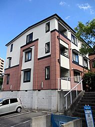 愛知県名古屋市千種区鹿子町3丁目の賃貸アパートの外観