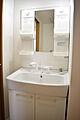 小物棚4つの洗...