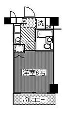 神奈川県横浜市磯子区森2丁目の賃貸マンションの間取り