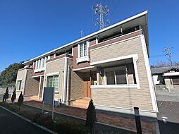 千葉県四街道市南波佐間の賃貸アパートの外観