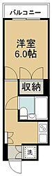 宮城県仙台市若林区連坊1丁目の賃貸マンションの間取り