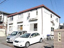 栃木県宇都宮市富士見が丘1丁目の賃貸アパートの外観