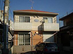 岡山県倉敷市美和1の賃貸アパートの外観
