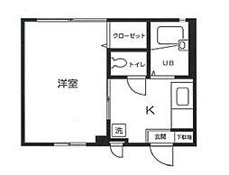 エクセルチヨ[1階]の間取り
