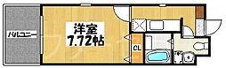 ローズモント・フレア博多駅前[10階]の間取り