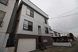 北海道札幌市豊平区月寒東五条7丁目の賃貸アパートの外観