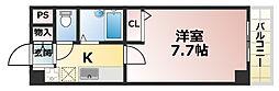ブロスコート六甲2[6階]の間取り