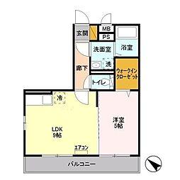 ドエル79[2階]の間取り
