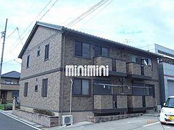 愛知県稲沢市西町2丁目の賃貸アパートの外観