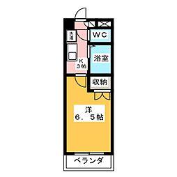 SPACE 1ST[3階]の間取り