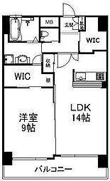 Bay Side Asano[7階]の間取り