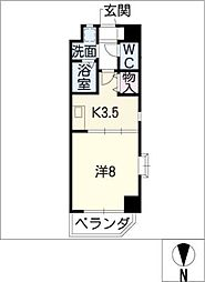 LaniKaiPark[6階]の間取り