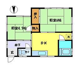 [一戸建] 埼玉県さいたま市中央区本町西2丁目 の賃貸【埼玉県 / さいたま市中央区】の間取り