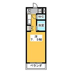 コミットメントガーデン磐田[2階]の間取り