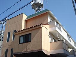 大阪府大阪市東淀川区上新庄1丁目の賃貸マンションの外観