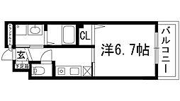 サニーハウス小戸[2階]の間取り